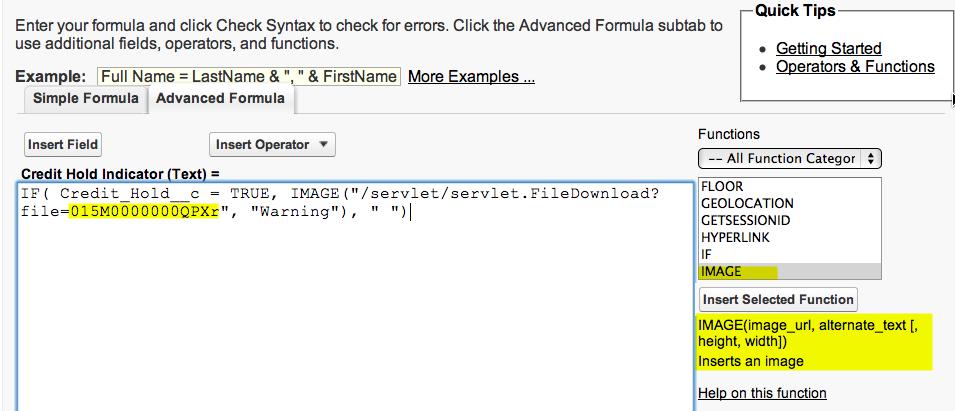 Image Formula